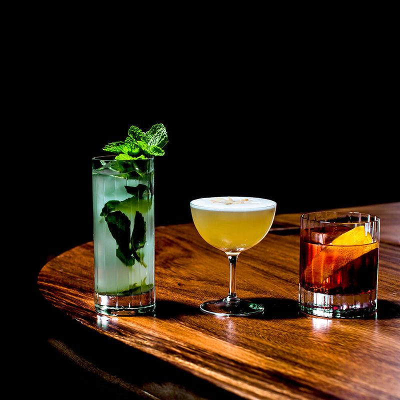 A Glass of Blues at the New Speakeasy-Inspired Cool Cats